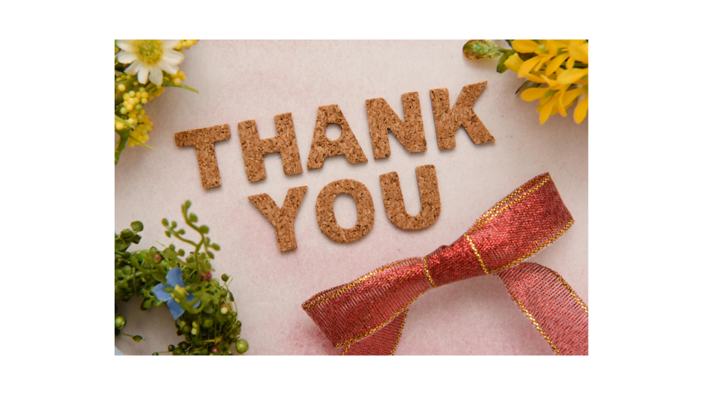 learn to say 'Thank you'